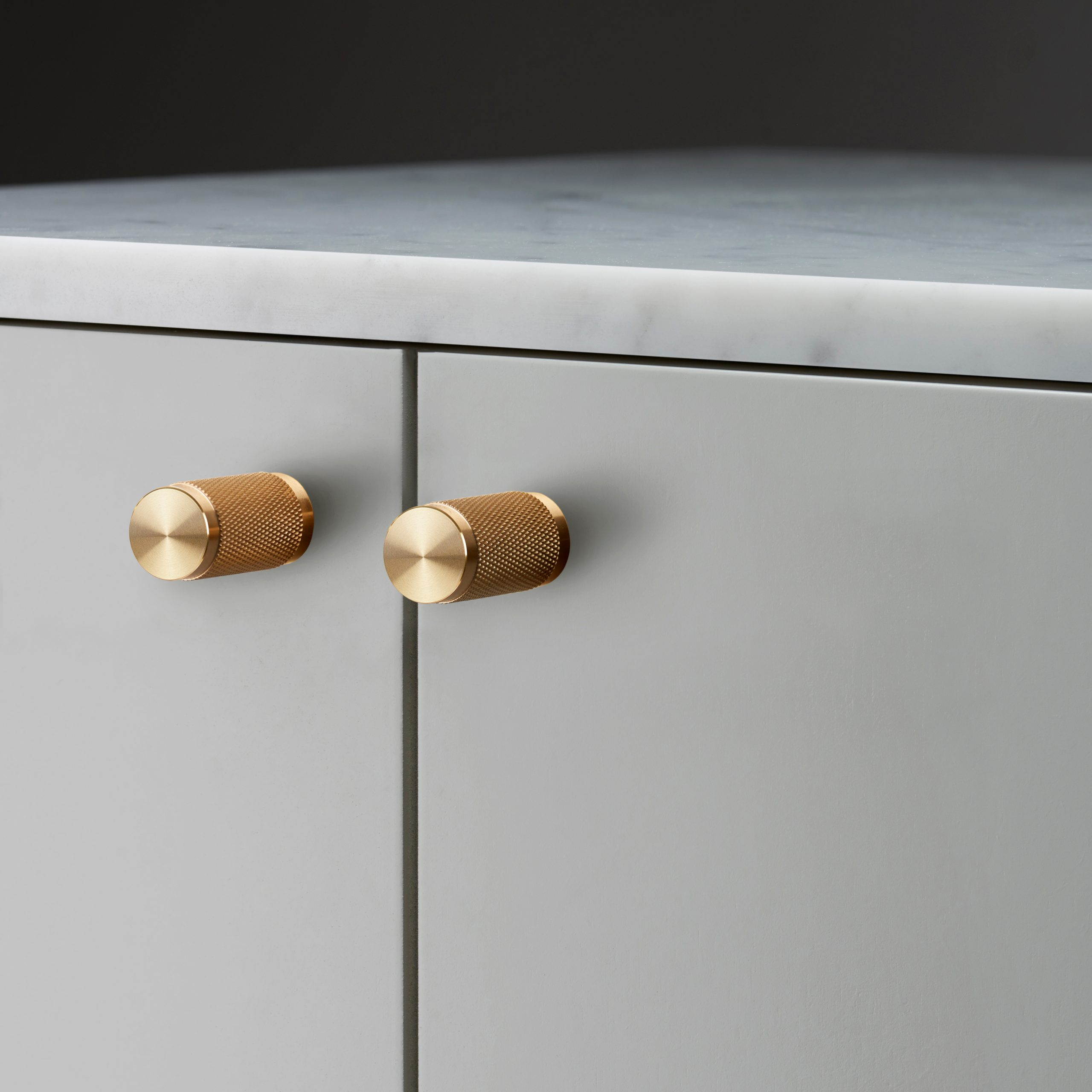 pair of furniture knobs