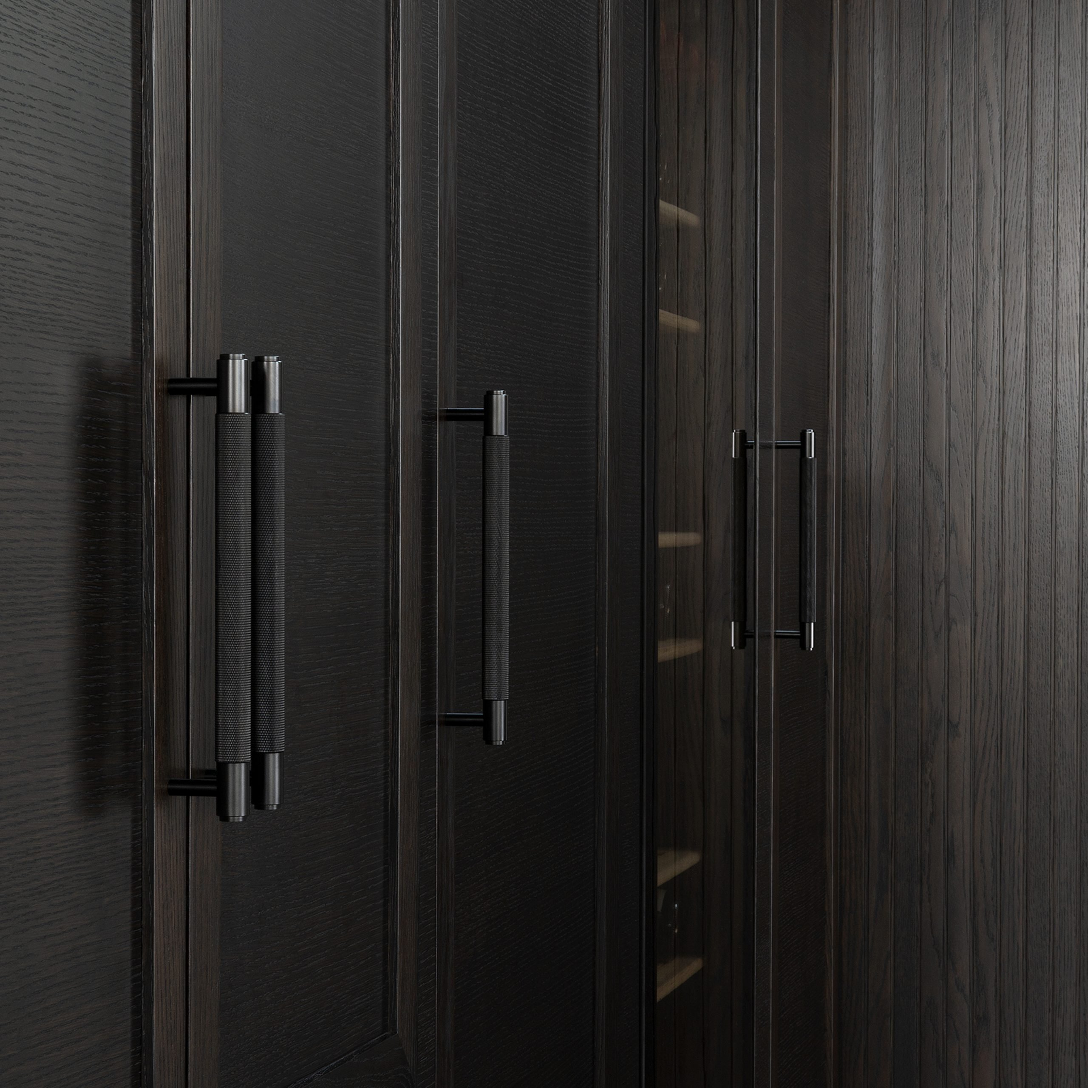 2. Buster+Punch_Pull Bar_Smoked Bronze_Closet 2