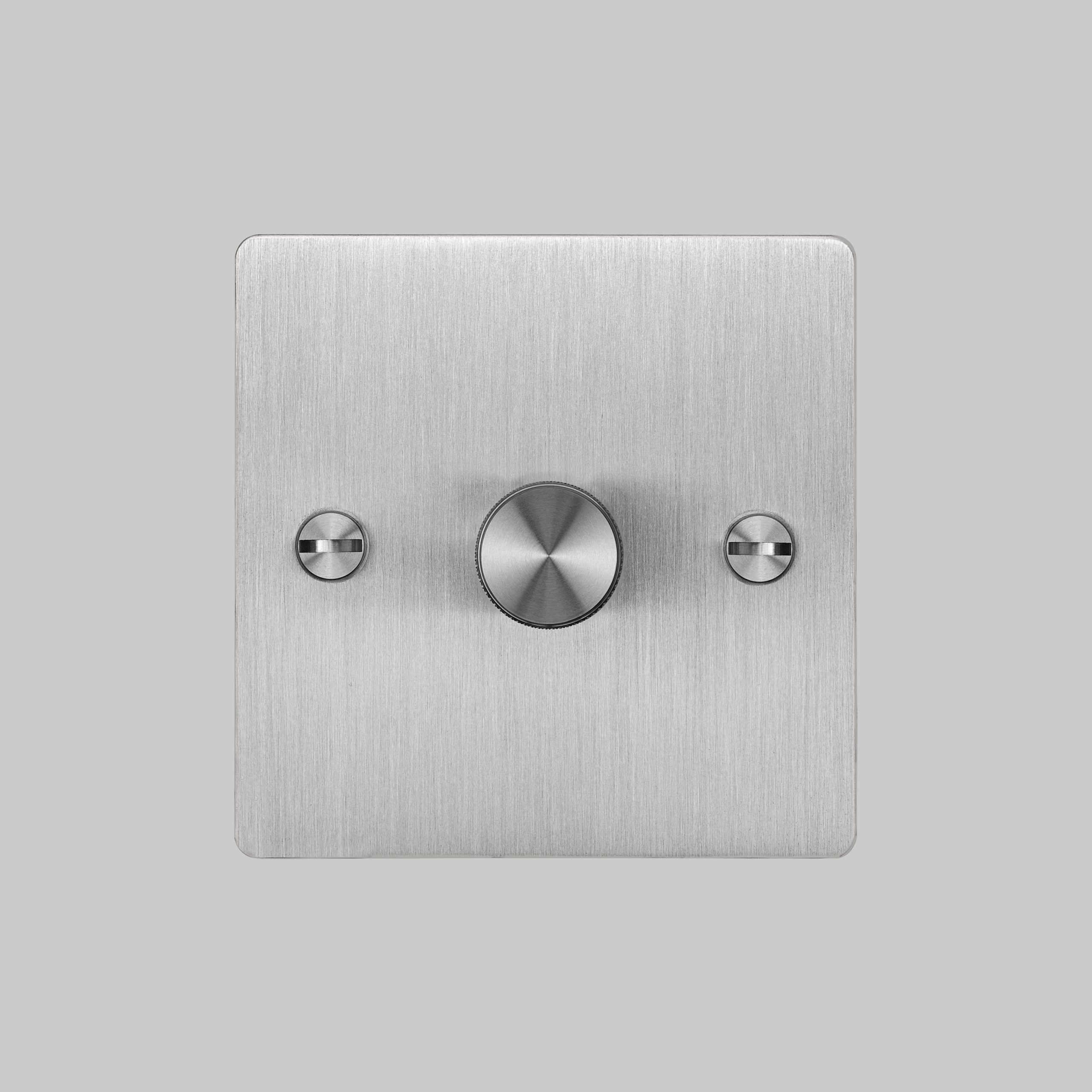 2. Buster+Punch_1G_Dimmer_Front_Steel